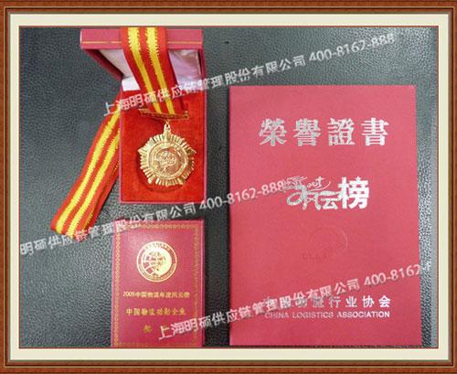 物流协会证书
